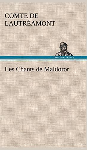 9783849141189: Les Chants de Maldoror (French Edition)