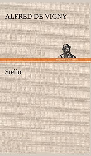 Stello (French Edition): Vigny, Alfred De