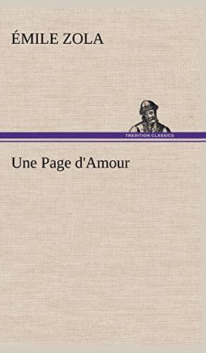 9783849144760: Une Page d'Amour
