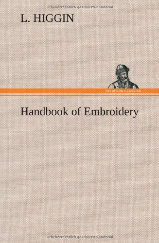 9783849158071: Handbook of Embroidery