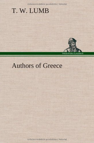 9783849162085: Authors of Greece