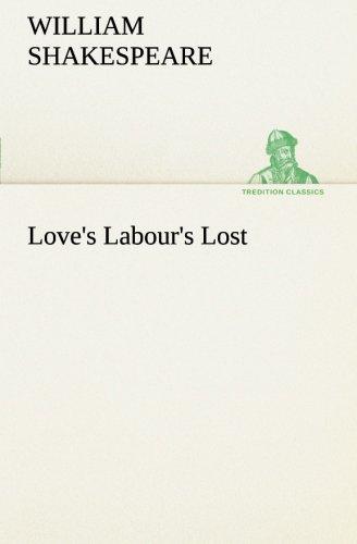 9783849167431: Love's Labour's Lost (TREDITION CLASSICS)