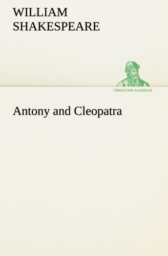 9783849169039: Antony and Cleopatra (TREDITION CLASSICS)