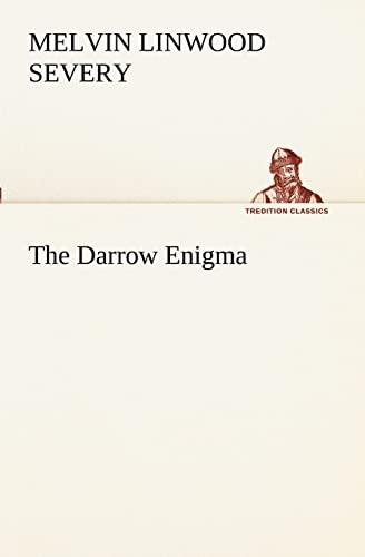 9783849172206: The Darrow Enigma (TREDITION CLASSICS)