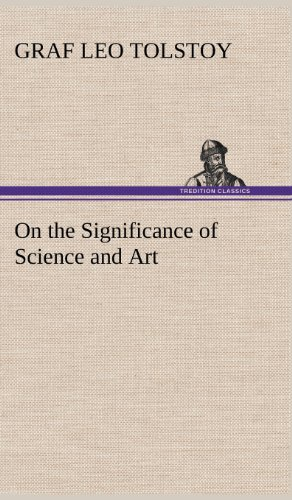 9783849174675: On the Significance of Science and Art
