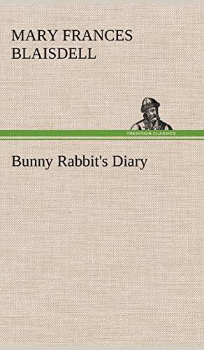 9783849175627: Bunny Rabbit's Diary