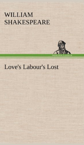 9783849176365: Love's Labour's Lost