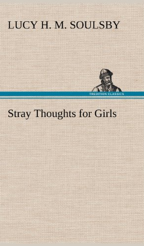 9783849177874: Stray Thoughts for Girls