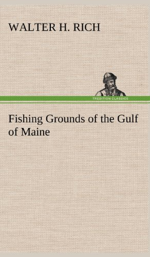 9783849179328: Fishing Grounds of the Gulf of Maine