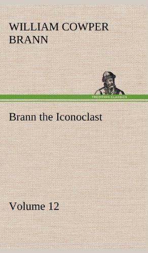 9783849182311: Brann the Iconoclast - Volume 12