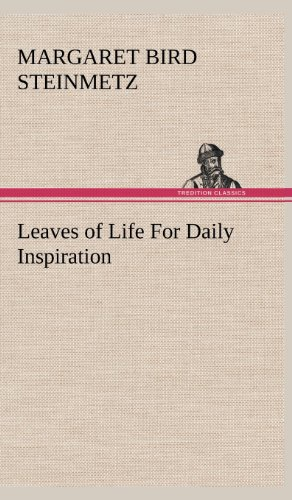 9783849182793: Leaves of Life For Daily Inspiration