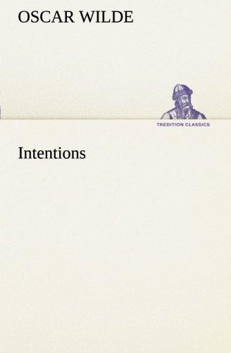 9783849188146: Intentions (TREDITION CLASSICS)