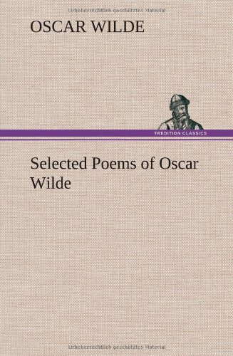 9783849193775: Selected Poems of Oscar Wilde
