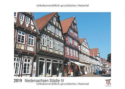 9783849220037: Niedersachsen Städte IV 2019 - White Edition - Timokrates Wandkalender, Bilderkalender, Fotokalender - DIN A3 (42 x 30 cm)