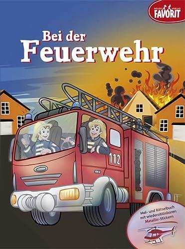 9783849439897: Bei der Feuerwehr
