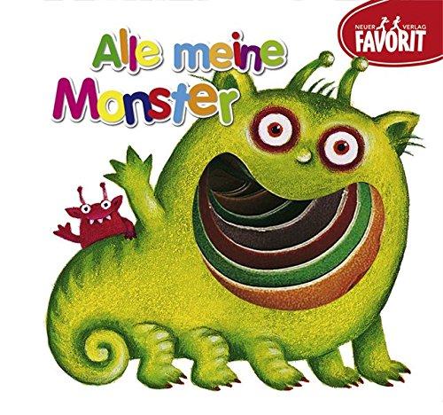 9783849459130: Alle meine Monster