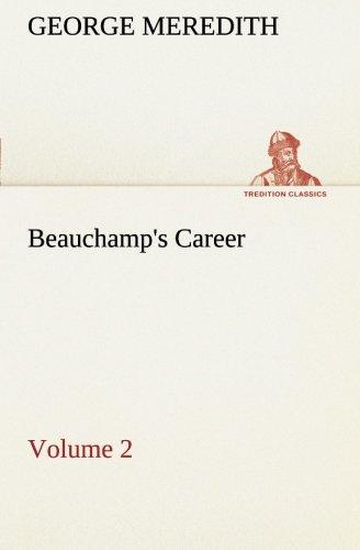9783849506100: Beauchamp's Career — Volume 2 (TREDITION CLASSICS)