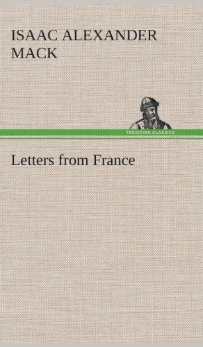 9783849515768: Letters from France