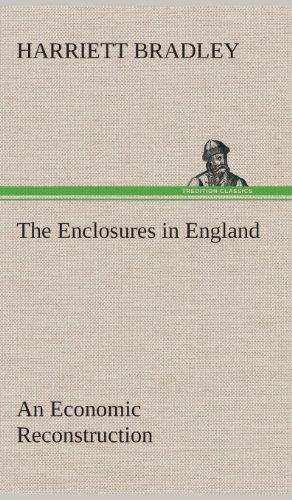 9783849517502: The Enclosures in England An Economic Reconstruction