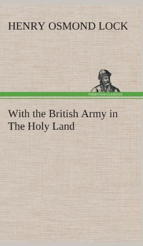 9783849518875: With the British Army in The Holy Land