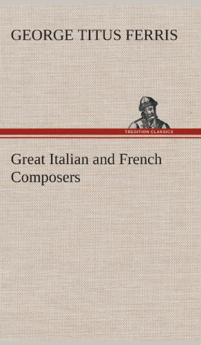 9783849520274: Great Italian and French Composers