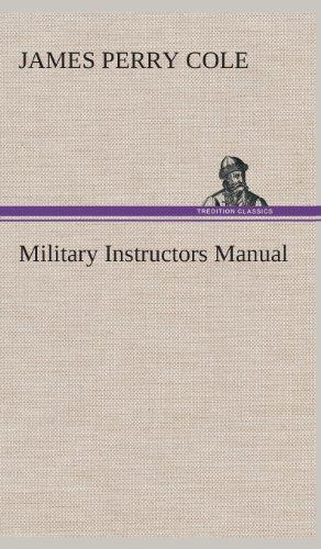 9783849524012: Military Instructors Manual