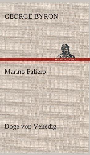 9783849533403: Marino Faliero - Doge von Venedig (German Edition)