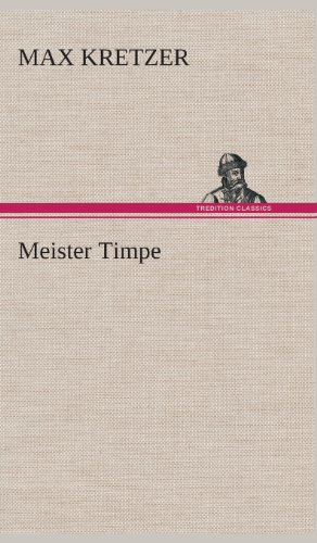 9783849535209: Meister Timpe (German Edition)