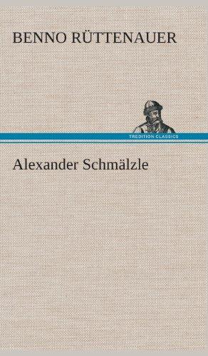 9783849536268: Alexander Schmälzle (German Edition)