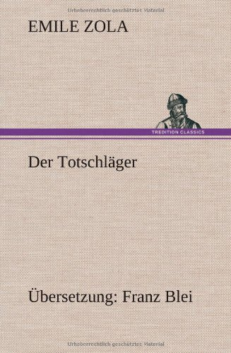 9783849537135: Der Totschläger (German Edition)