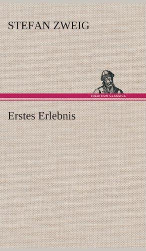9783849537173: Erstes Erlebnis (German Edition)