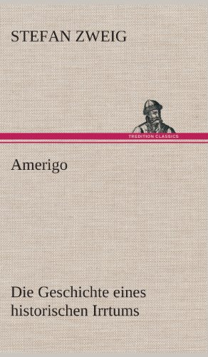 9783849537234: Amerigo (German Edition)