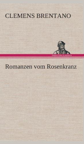 9783849547882: Romanzen vom Rosenkranz (German Edition)