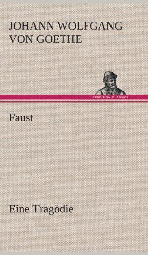 9783849548759: Faust Eine Tragödie (German Edition)