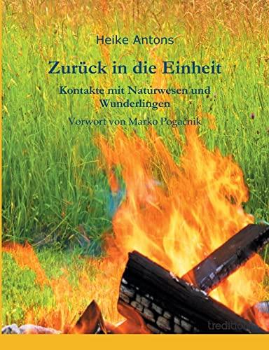 9783849551520: Zur�ck in die Einheit: Kontakte mit Naturwesen und Wunderlingen
