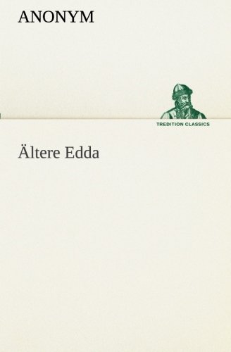 9783849552589: Ältere Edda