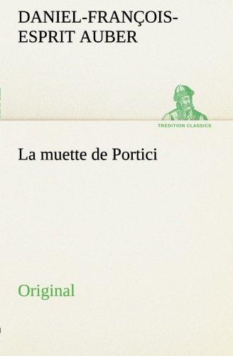 9783849552671: La muette de Portici: Original (French Edition)