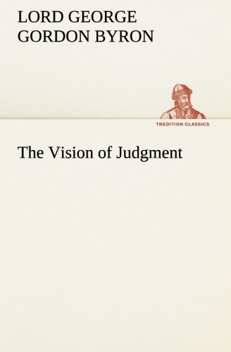 9783849553456: The Vision of Judgment