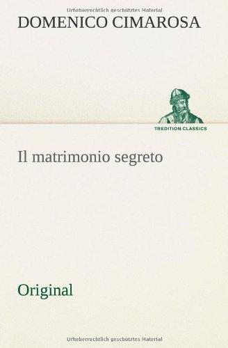 9783849553623: Il matrimonio segreto: Original (Italian Edition)
