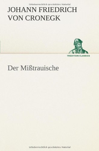 9783849553838: Der Mißtrauische (German Edition)