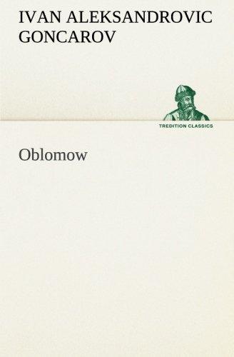 9783849554804: Oblomow (German Edition)