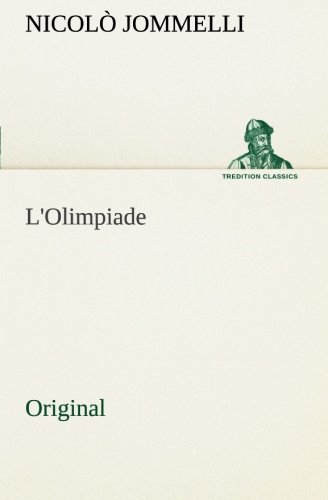9783849555597: L'Olimpiade: Original (Italian Edition)