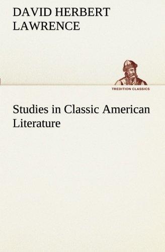 9783849555948: Studies in Classic American Literature