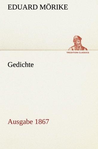9783849556846: Gedichte: Ausgabe 1867 (German Edition)