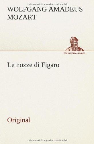 9783849556990: Le nozze di Figaro: Original