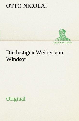 9783849557119: Die lustigen Weiber von Windsor: Original (German Edition)