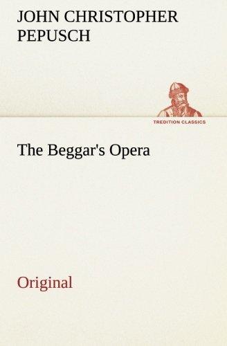 9783849557270: The Beggar's Opera: Original