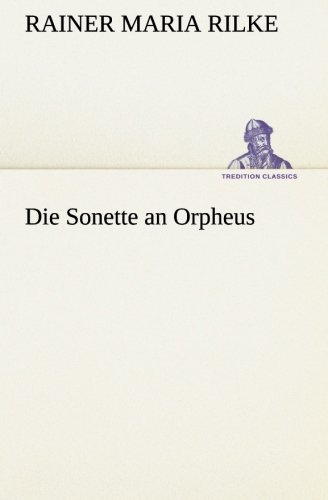 9783849557638: Die Sonette an Orpheus