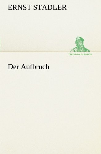 9783849558550: Der Aufbruch (German Edition)
