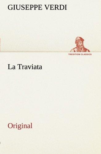 9783849559250: La Traviata: Original (Italian Edition)